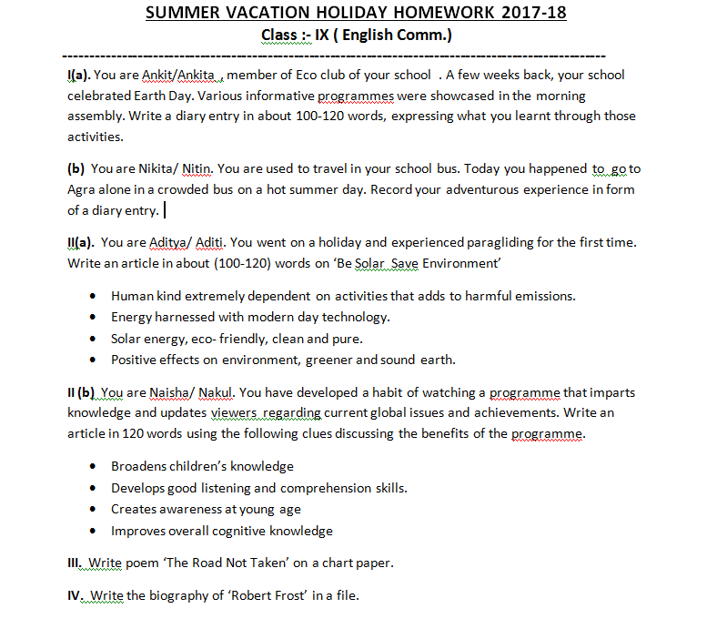 How to write essay about summer vacation